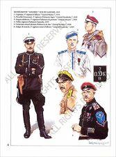 PLANCHE UNIFORM PRINT RUSSIE RUSSIA GUERRE CIVILE RUSSE RUSSIAN CIVIL WAR