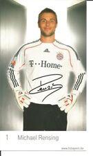 FC Bayern München Autogrammkarte Michael Rensing