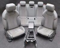 Audi S4 A4 8W S-LINE Leder Sitze Alcantara Lederausstattung Sportsitze S Logo