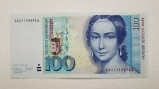 100 Deutsche Mark 1996  , UNC, no folds Pick # 46