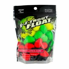 Leland Slotted Floats Green, Red, Yellow 36 Pack