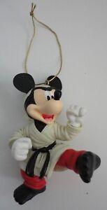Disney Mickey Mouse Black Belt Karate Christmas Ornament Disneyland