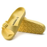 Birkenstock Womens Yellow Soft Eva Vibrant Madrid Comfort Sandals Shoes 1014562