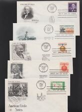 US FDC 1961 Year Set 18 First Day Covers All Cacheted All Unaddressed |