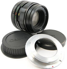 SERVICED HELIOS 44m-4 USSR Lens Canon EOS EF Mount 600 D 650 1100 1200 1300 44-2