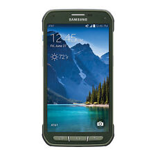 NEW Samsung Galaxy S5 Active SM-G870A UNLOCKED AT&T 4G Smartphone - Green