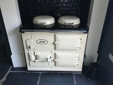 Two Oven Oil Fired Aga Cream