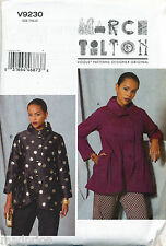 Vogue Sewing Pattern 9230 Misses Sz 6-14 Marcy Tilton Loose-fitting Jacket