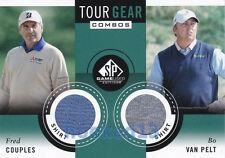 2014 SP Game Used PGA Fred Couples/Bo Van Pelt Tour Gear Dual Card #TG2-PC
