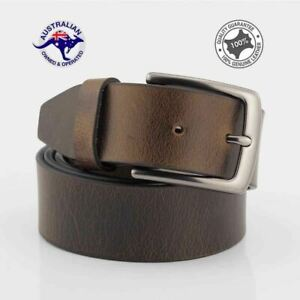 Men's Genuine Premium Full Grain Buffalo Leather Casual Jeans Belt-LC-1204