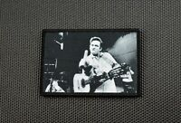 Johnny Cash Finger Sublimated Dye Printed Moral Uniform Patch San Quentin Prison