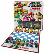 Super Mario Chess Collector's Edition Tin Great Game for  Child Beautiful Gift