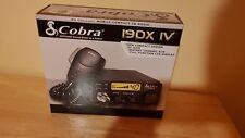 CB Radio Cobra 19DX IV UK AM only 4W
