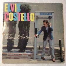 Elvis Costello Lp Taking Liberties 1980 new wave rock & roll Vg+Nm Vinyl album