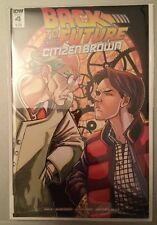 Back To The Future Comic Citizen Brown Issue 4 IDW Bagged & Boarded