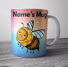 Bubble Bee Themed Personalised Mug / Cup Birthday Christmas Gift - ANY NAME