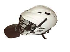 White Cascade Lacrosse Helmet