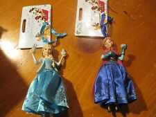 NWT Disney Store Frozen ELSA and ANNA Sketchbook Christmas Holiday Ornament