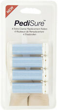 4 x PediSure® Extra Coarse Replacement Rollers - Genuine Official Product