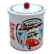 Official VW Classic Campervan Biscuit Tin Canister - Volkswagen Cookie Jar New