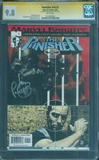 Punisher 1 CGC SS 9.8 Palmiotti Sign Bradstreet Dillon Marvel Knights Daredevil