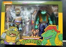 NECA Teenage Mutant Ninja Turtles: Slash and Leatherhead TMNT
