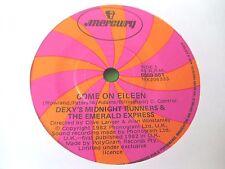 "DEXY'S MIDNIGHT RUNNERS - COME ON EILEEN  7"" (AUSTRALIAN PRESS)  82  VG"