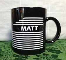 """MATT"" NAME COFFEE MUG, 11 oz. CUP, PERSONALIZED"