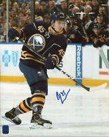 Brendan Guhle Buffalo Sabres Anaheim Ducks Rare Signed Autograph Photo DA COA