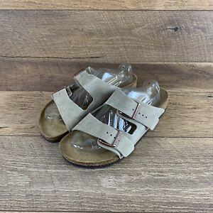Birkenstock Arizona BS 0051461 Taupe Suede Sandal 41 EURO Ladies 10 / Men's 8 US