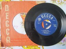 Tommy Steele ‎– A Lovely Night Decca Records 45-F 11089 UK 7inch Vinyl Single