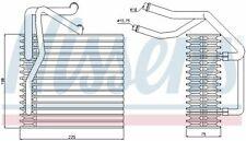 Nissens (92205) Verdampfer, Klimaanlage für CITROEN PEUGEOT