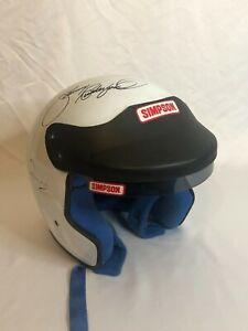 Bobby Rahal Autograph Plus Seven Others Simpson Helmet Indy 500