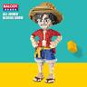 Baukästen Balody Gebäude Japanische Anime One Piece Luffy Geschenk Spielzeug