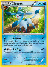 4X Pokemon Furious Fists Glaceon 19/111 Rare Card