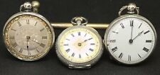 Vintage Silver Pocket Watches