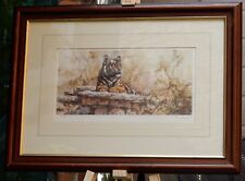 Resting Tiger - limited edition print, created & signed by Tony Forrest