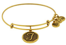 ALEX AND ANI Intitial T Charm Bangle ~ C-4