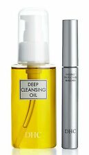 DHC Deep Cleansing Oil (S) & Mascara Perfect Pro Double Protection (Black)