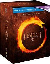 The Hobbit Trilogy Extended Edition Blu-ray Region B (+ 3 D + Digital) 15 Discs