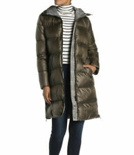 French Connection Hooded Puffer Coat F20226, Green, L