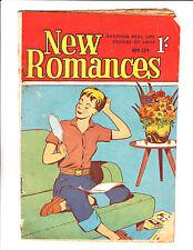 "New Romances No 124 1950's Austrailian -""Hand Mirror Cover ! """