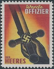 Stamp Replica Label Germany 0183 WWII Official Wehrmacht Sword MNH