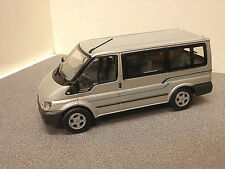 Ford Transit Tourneo Mini Bus in Silver 1/43rd scale