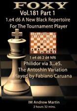 Schach - Foxy Opening DVD 181: Martin - 1.e4 d6 Black Repertoire - Part 1 - NEU