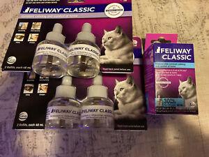 Feliway Classic CAT Diffuser Refills - (2) 2 ct 48 mL  +30 Day = 5 ct (150 days)