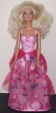 Poupée Barbie de collection 2010 0442HF1 maillot de bain, longue jupe, longue blonde cheveux frisés
