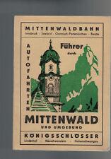 Mittenwald Führer - Karwendelgebirge Mittenwaldbahn