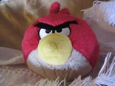 2010 Commonwealth Toy Co Novelty Round Angry Bird Plush Stuffed Animal