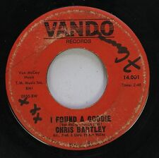 Hear! Northern Soul 45 Chris Bartley - I Found A Goodie / Be Mine Forever On Va